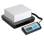 Bench Scale with Remote Display, 400lb Capacity, 12 1/5 x 11 7/10 Platform