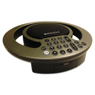 Aura SoHo Conference Phone, 3 Built-In Microphones, Silver/Black