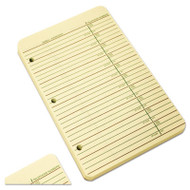 Looseleaf Phone/Address Book Refill, 5 1/2 x 8 1/2, 80 Sheets
