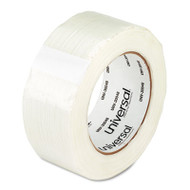 "110# Utility Grade Filament Tape, 48mm x 54.8m, 3"" Core, Clear"