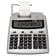 1212-3A Antimicrobial Printing Calculator, Blue/Red Print, 2.7 Lines/Sec