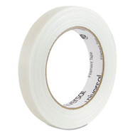 "165# Medium Grade Filament Tape, 18mm x 54.8m, 3"" Core, Clear"