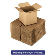 Brown Corrugated - Cubed Fixed-Depth Shipping Boxes, 16l x 16w x 16h, 25/Bundle