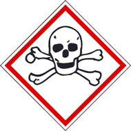TOXIC GHS LABEL