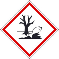 DANGEROUS FOR ENVIRONMENT GHS LABEL
