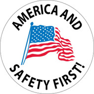 AMERICA AND SAFETY FIRST LABEL