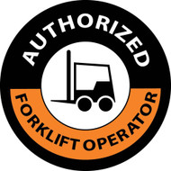 AUTHORIZED FORKLIFT OPERATOR LABEL