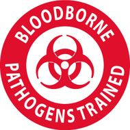 BLOOD BORNE PATHOGENS TRAINED LABEL