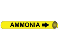 AMMONIA PRECOILED/STRAP-ON PIPE MARKER