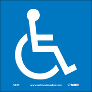 ADA LOCATION MARKER HANDICAPPED SIGN