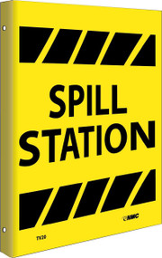 2-VIEW SPILL STATION SIGN
