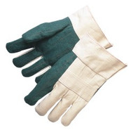 Heavy weight - green - double palm - burlap reinforced lining