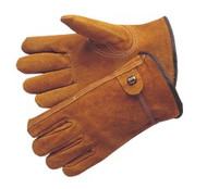 Bourbon brown - select shoulder leather - ball and tape