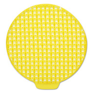 ActiveAire Deodorizer Urinal Screen, Sunscape, w/Side Tab, Yellow, 12/Ctn