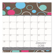 100% Recycled Bubbleluxe Wall Calendar, 12 x 12, 2018