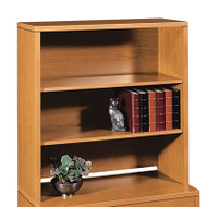 10500 Series Bookcase Hutch, 36w x 14-5/8d x 37-1/8h, Bourbon Cherry