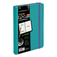 ColorPop Journal, College Ruled, 8 1/4 x 5 1/8, Teal, 240 Sheets