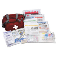 All Terrain First Aid Kit, 112 Pieces, Ballistic Nylon, Red