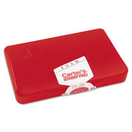 Foam Stamp Pad, 4 1/4 x 2 3/4, Red