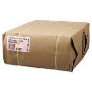 #12 Paper Grocery, 57lb Kraft, Extra-Heavy-Duty 7 1/16x4 1/2 x13 3/4, 500 bags