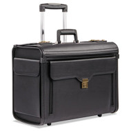 Bond Street Collection Catalog Case on Wheels, Koskin, 19 x 9 x 15-1/2, Black