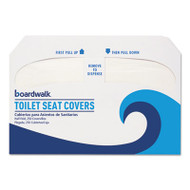 Premium Half-Fold Toilet Seat Covers, 250 Covers/Sleeve, 10 Sleeves/Carton