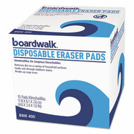 Disposable Eraser Pads, 10/Box, 16 Boxes/Carton