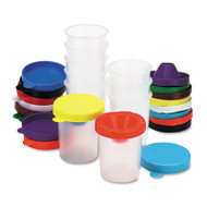 No-Spill Paint Cups, 10/Set