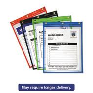 Heavy-Duty Super Heavyweight Plus Shop Ticket Holders, Assorted, 9 x 12, 20/BX