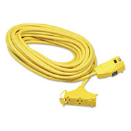 Ground Fault Circuit Interrupter Cord Set, 25 Feet, Yellow