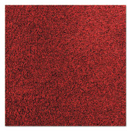 Rely-On Olefin Indoor Wiper Mat, 48 x 72, Red/Black