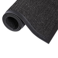 Super-Soaker Wiper Mat w/Gripper Bottom, Polypropylene, 24 x 36, Charcoal