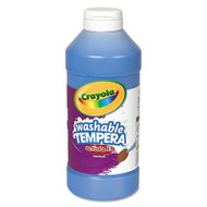 Artista II Washable Tempera Paint, Blue, 16 oz