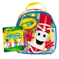 Art Buddy Backpack, 38 Pieces, Ages 4 and Up