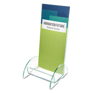 Euro-Style DocuHolder, 4 1/2w x 4 1/2d x 7 7/8h, Clear