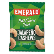 100 Calorie Pack Nuts, Jalapeno Cashews, 0.62 oz Pack, 12/Box