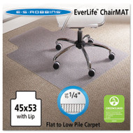 45 x 53 Lip Chair Mat, Task Series AnchorBar for Carpet up to 1/4""