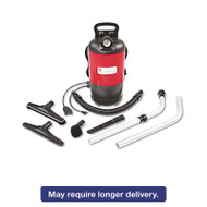 Commercial Backpack Vacuum, 11.5lb, Red