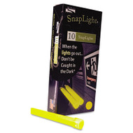 "Snaplights, 6""l x 3/4""w, Yellow, 10/Pack"