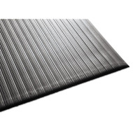Air Step Antifatigue Mat, Polypropylene, 36 x 60, Black