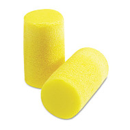 E·A·R Classic Plus Earplugs, PVC Foam, Yellow, 200 Pairs