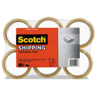 """3350 General Purpose Packaging Tape, 1.88"""" x 54.6yds, 3"""" Core, Clear, 6/Pack"""