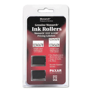 925403 Replacement Ink Rollers, Black, 2/Pack