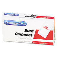 First Aid Kit Refill Burn Cream Packets, 10/Box