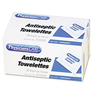 First Aid Antiseptic Towelettes, 25/Box