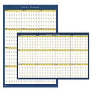 100% Recycled 12-Month Laminated Planning Board, 36 x 24