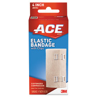 Elastic Bandage with E-Z Clips, 4""