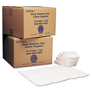 Baby Changing Station Sanitary Bed Liners, White, 500/Carton