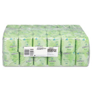 100% Recycled Bath Tissue, Two-Ply, White, 500 Sheets/Roll, 48 Rolls/Carton