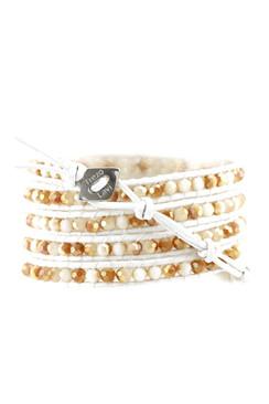 Trezo Lavi Leather Wrap Bracelet
